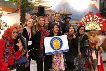 Indonesië wint de Reisgraag Award