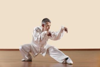 Kung fu, een Chinese vorm van martial arts