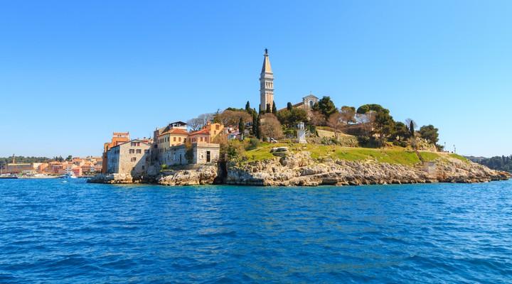 Rovinj in Istrië, Kroatië