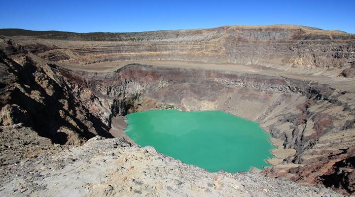 Kratermeer Santa Ana (Ilamatepec) vulkaan