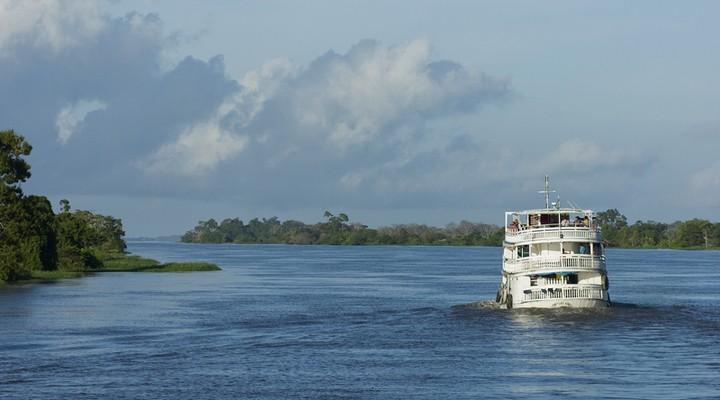 Manaus, bootje Amazone-gebied