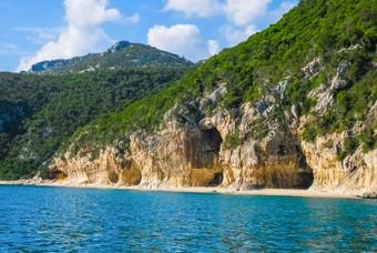 Cala Luna, een van de mooiste stranden in Italië