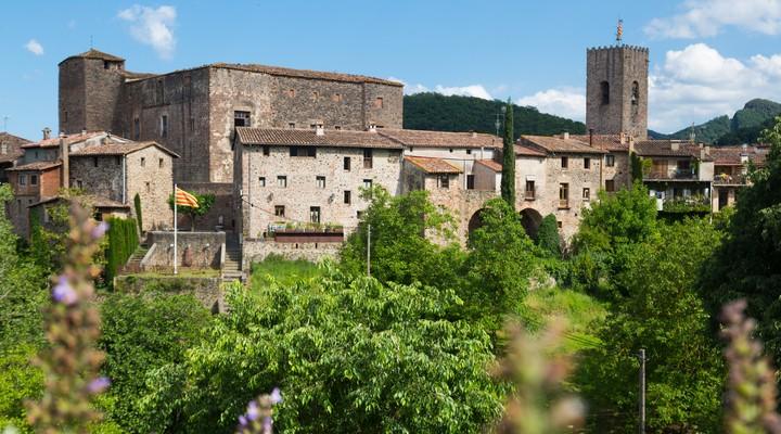 Santa Pau, Catalonië