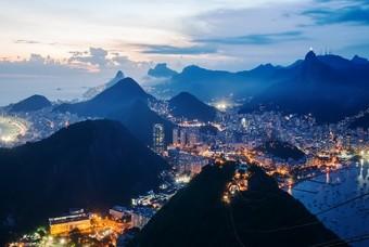 Rio de Janeiro avond