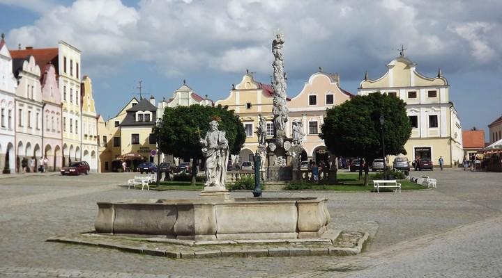 Historische centrum van Telc