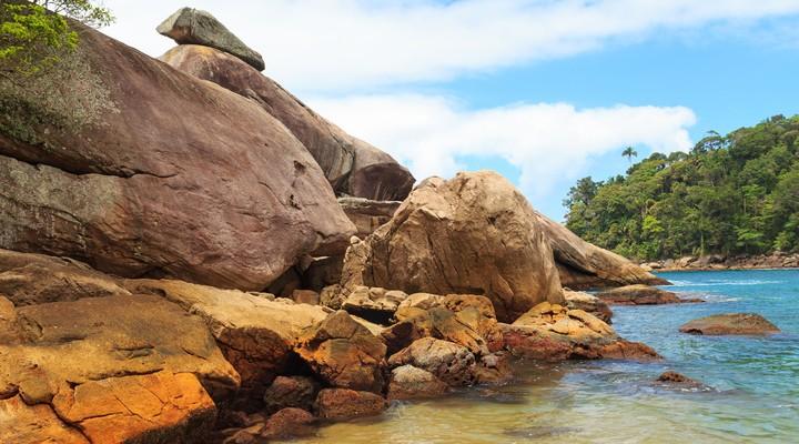 Caxadaco strand op het eiland Ilha Grande