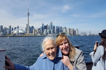 Roadtrip met oma door Canada