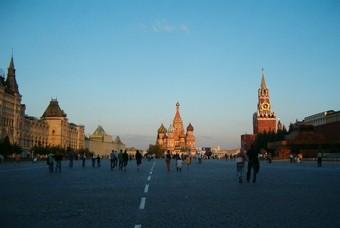 Rode plein Moskou, stedentrip Rusland
