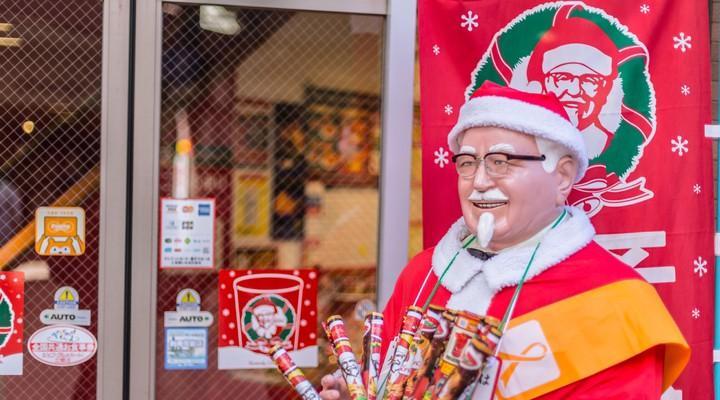 KFC tijdens de kerst