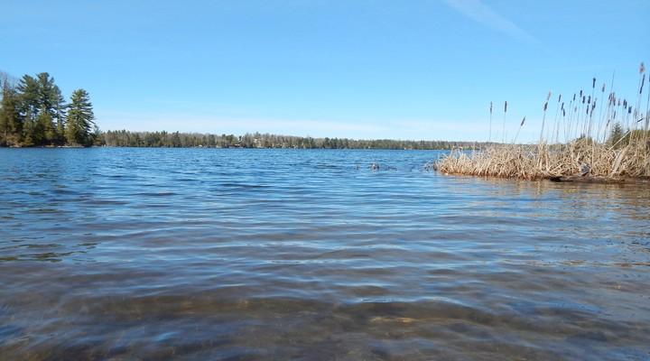 Een van de vele meren in Quebec