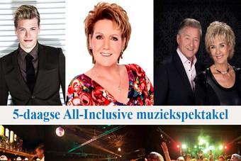 Nieuw: 5-daags muziekspektakel Bolderman Excursiereizen