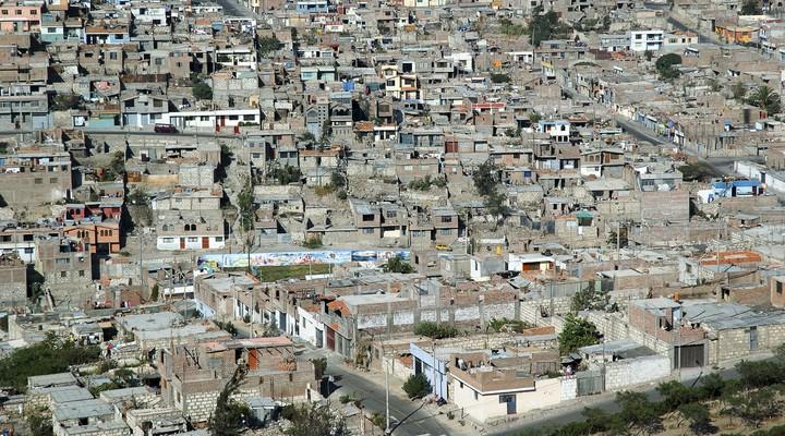 Stadsbeeld Arequipa, Peru