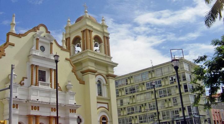 Gebouwen in San Pedro Sula