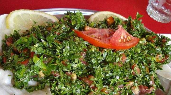 Libanees eten