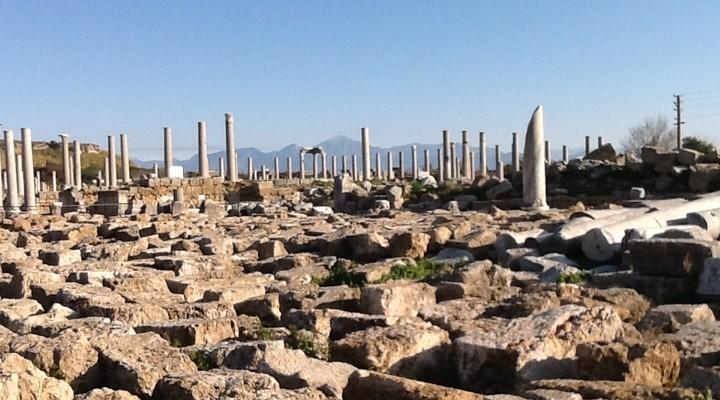 De oude stad Perge