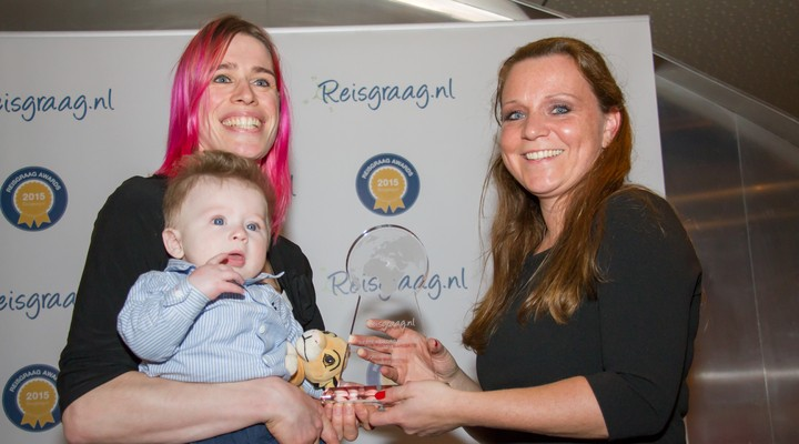 Simi Reizen met Reisgraag award