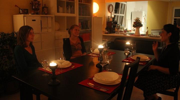 Diner bij locals in Berlijn