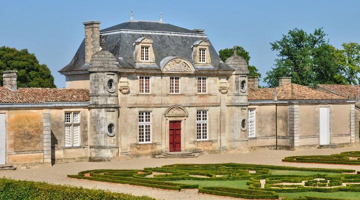 Kasteel van Malle in de Gironde