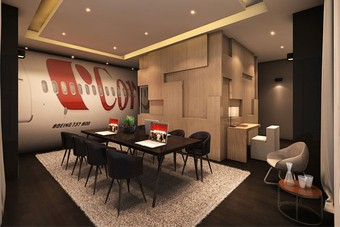 Corendon Vitality Hotel krijgt echte Boeing 737 suite