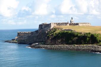 Landschap Puerto Rico