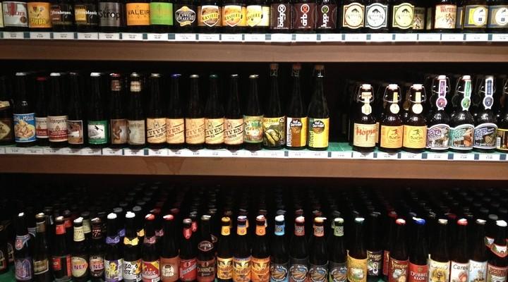 Diverse Belgische bieren