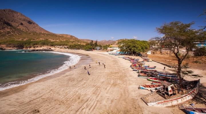 Santiago is het grootste eiland van Kaapverdië