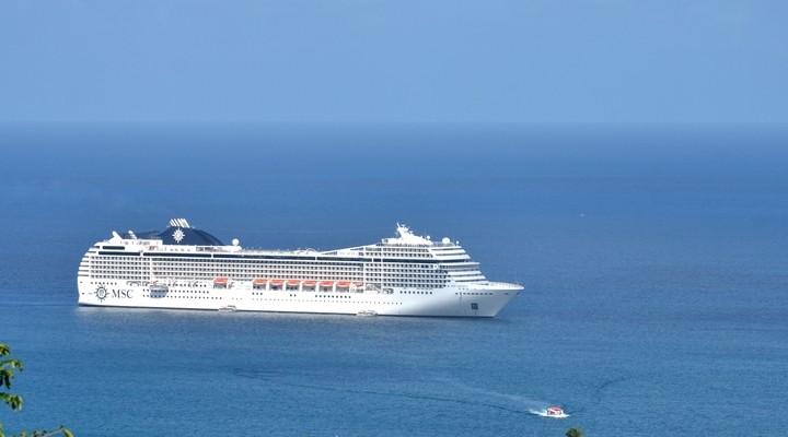 Een schip van MSC Cruises