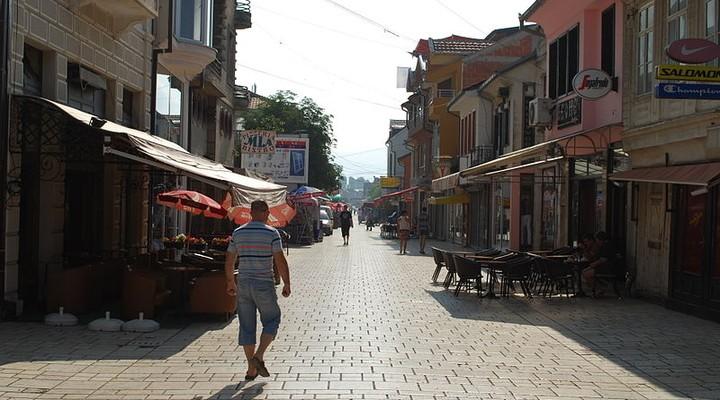 Straatje in Struga