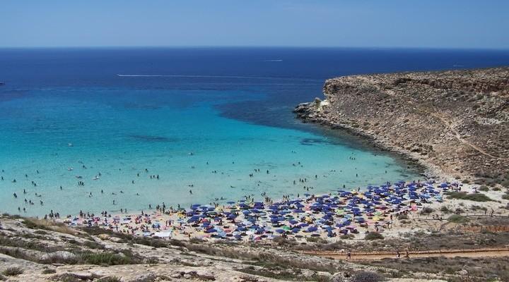 Spiagga dei Conigli, volgens sommigen het mooiste strand ter wereld