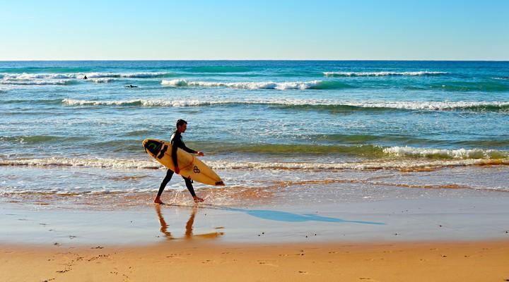Surfen in de Portugese Algarve