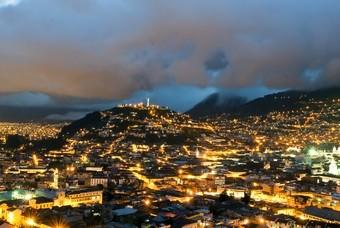 Stad Quito Ecuador