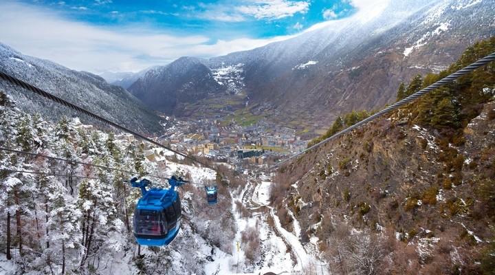 Kabelbaan Encamp Andorra