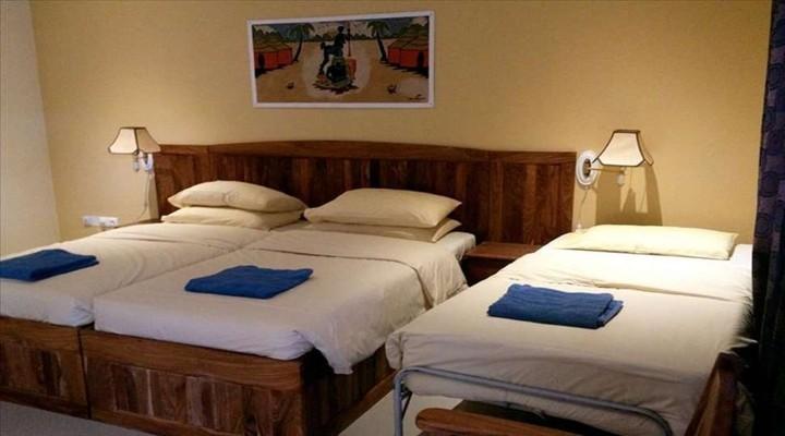 Derde bed van 'Tweepersoonskamer Superior'