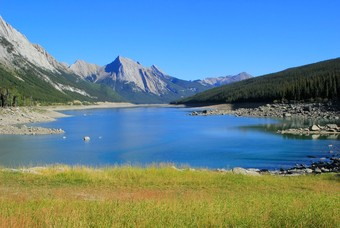 Medicine Lake, Jasper National Park Alberta