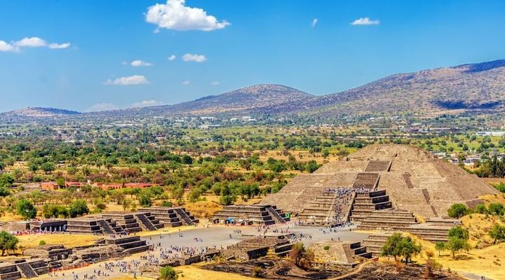 Piramide van de maan in Teotihuacán