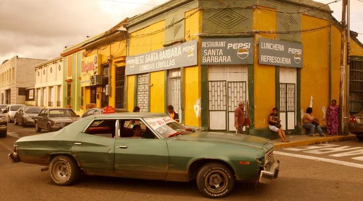 Koloniale huizen in Maracaibo