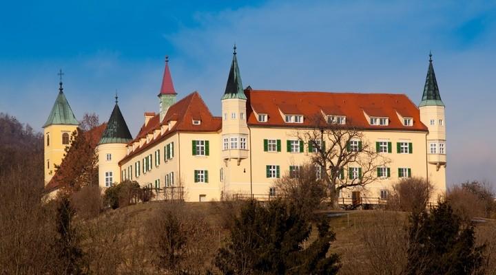 Kasteel Sankt Martin in Graz, Oostenrijk