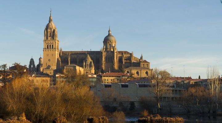 Uitzicht op Salamanca - Spanje