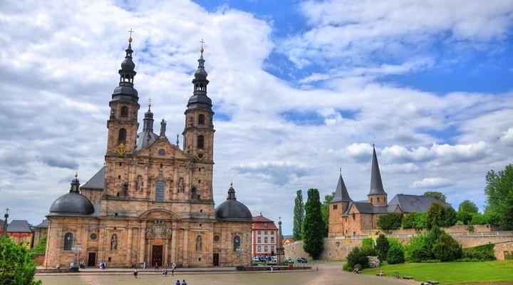 Dom van Fulda, Hessen, Duitsland