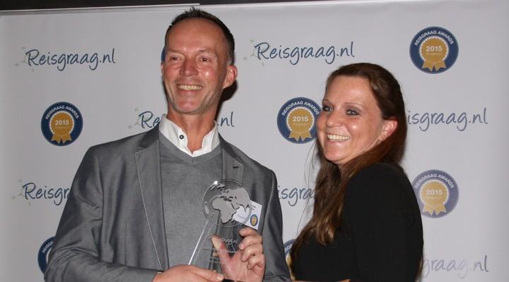 PANGEA Travel met Reisgraag award