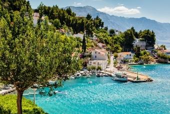 Adriatische Baai Kroatie