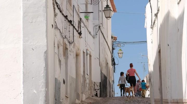 De leuke straatjes van Estremoz