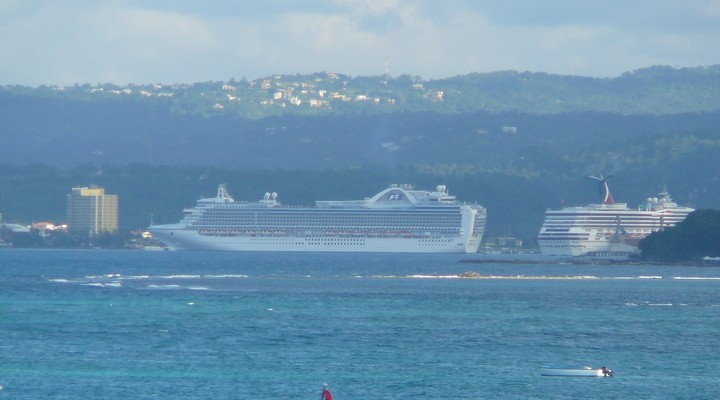 Ocho Rios, cruiseboot, Jamaica