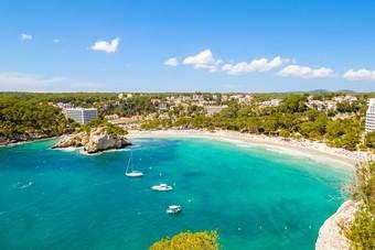 Het Spaanse eiland Menorca