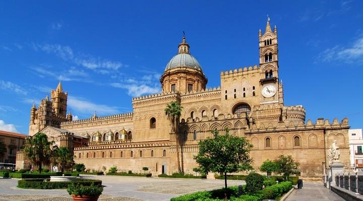 Palermo, hoofdstad Sicilië, eiland Italië