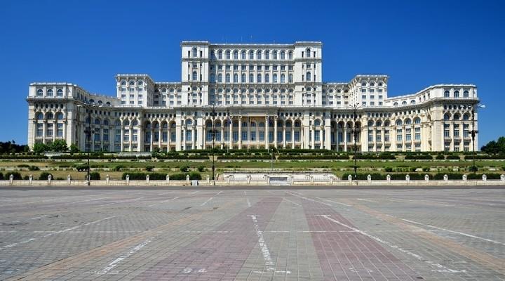 Paleis van Parlement, Boekarest, Roemenie