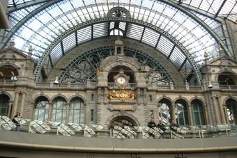 Weekendje Antwerpen met de trein