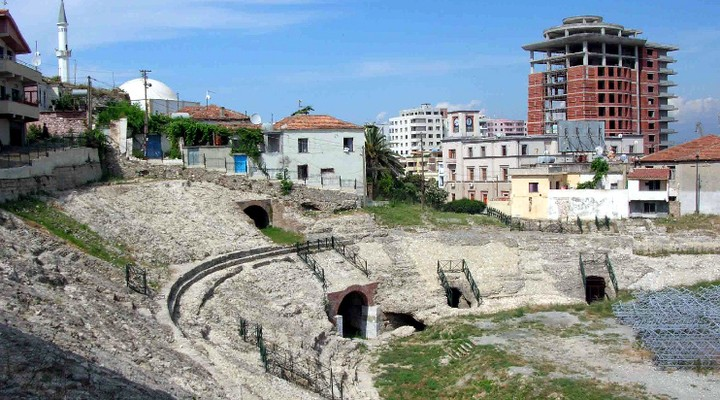 Amphitheater Albanie