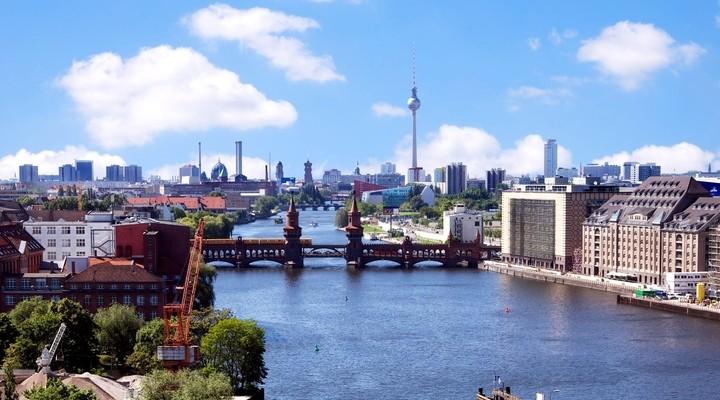 Skyline van Berlijn
