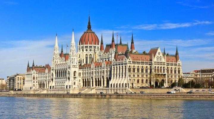 Parlementsgebouw in Budapest